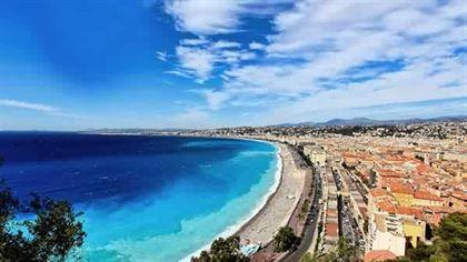 Nice on french riviera