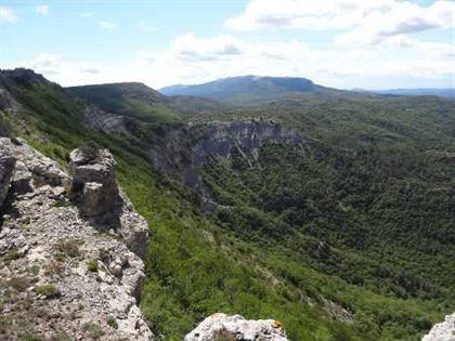 rando en Provence verte
