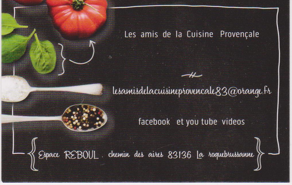 amis de la cuisine provençale