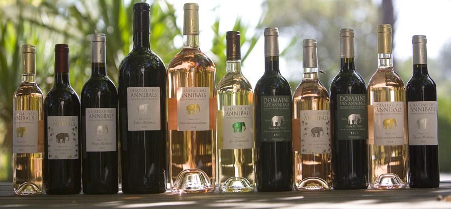 vin de Provence, domaine des Annibals