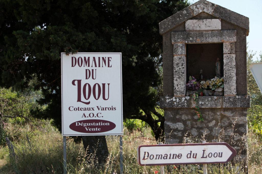 Vin de Provence coteaux varois domaine du loou