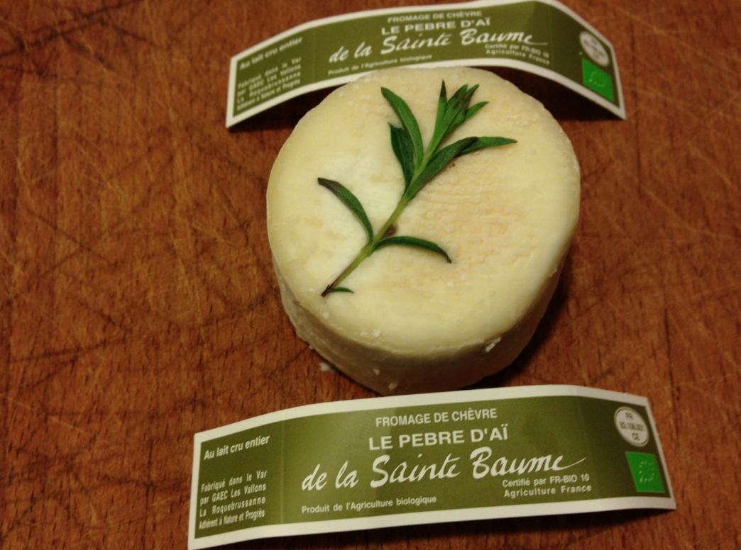 fromage bio provence