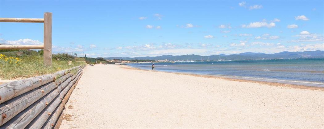 plage bergerie badine hyères var provence
