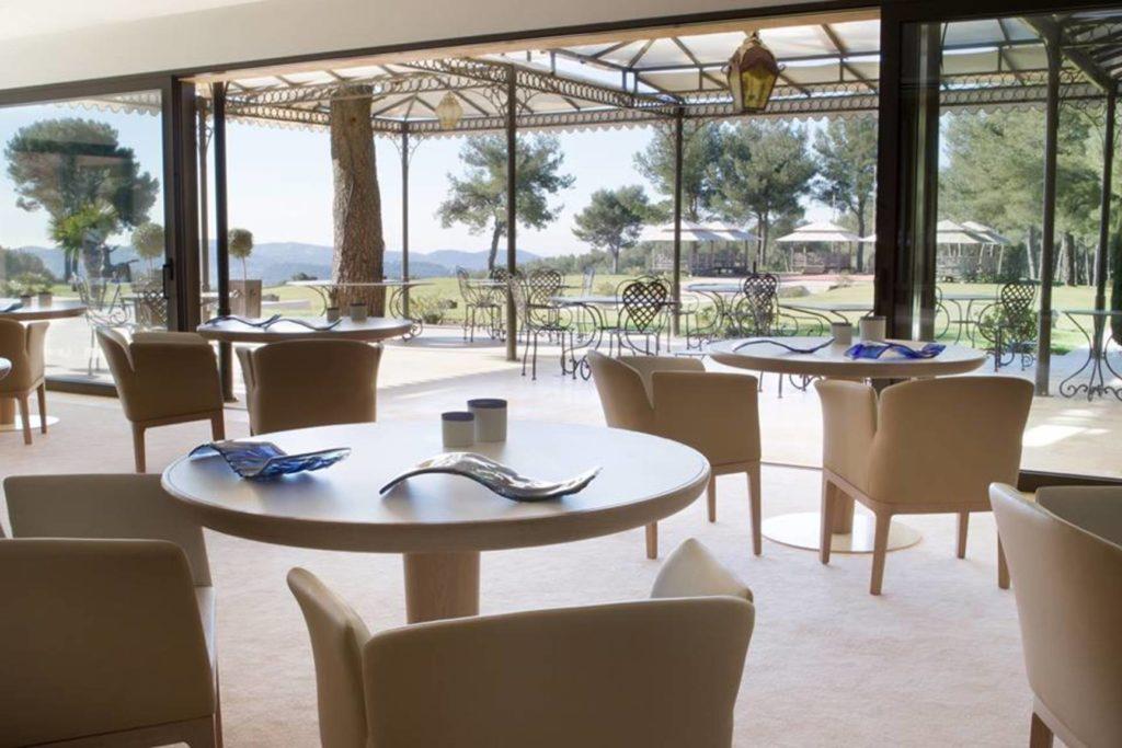 restaurant gastronomique castellet bacquié