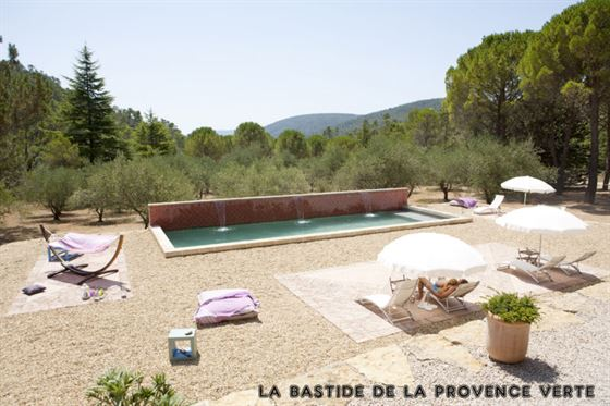 swimming pool bed and breakfast provence