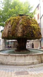 Barjols ses sources ses fontaines en Provence