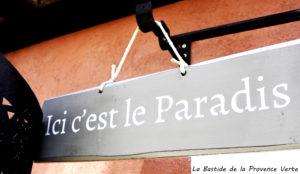 paradis de notre petit gite en Provence