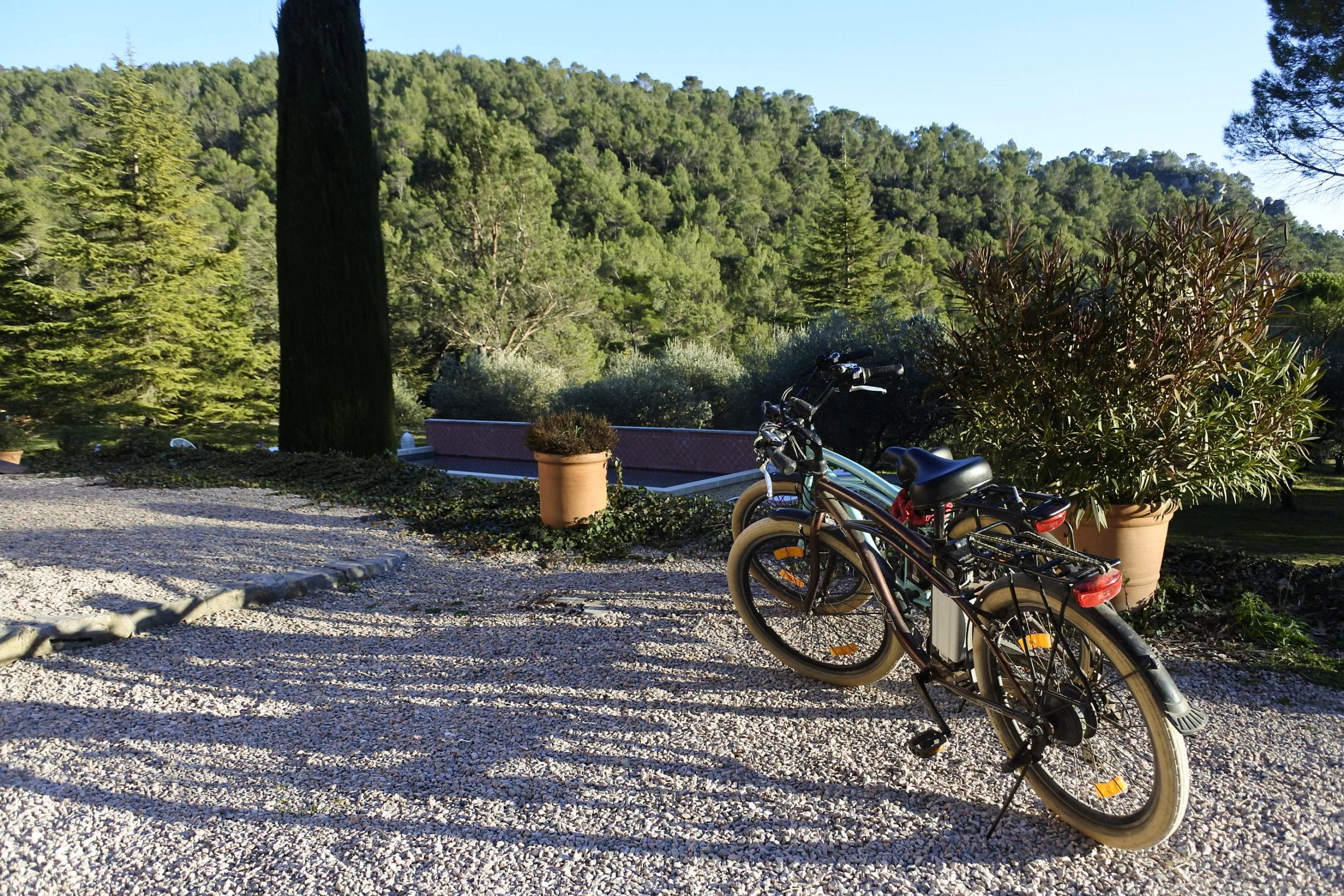 rental e bikes in France, Provence