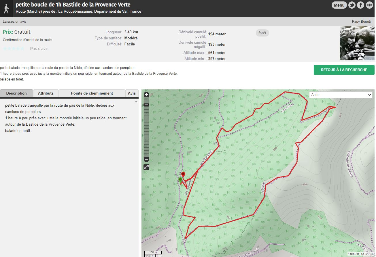 randonnée en Provence Verte
