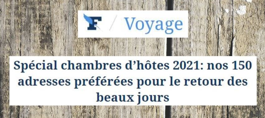 chambre d hôtes Figaro 2021